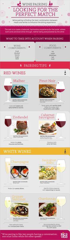 Wine Pairing Tips Infographic
