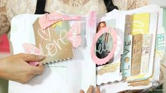 Heidi Swapp: Dreamy Mini File Folders. Join Heidi Swapp as she shares some heavenly projects and layout using her new Dream Collection mini ...