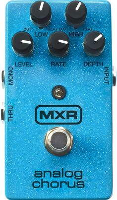 MXRM234 Analog Chorus Guitar Effects Pedal