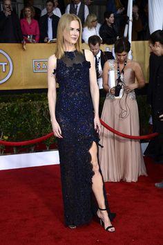 Celeb Diary: Nicole Kidman @ 2013 Screen Actors Guild Awards