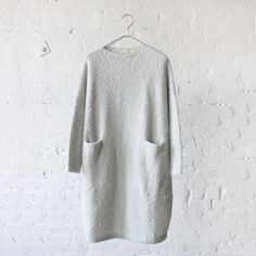 // Lauren Manoogian Trapezoid Dress Overcast
