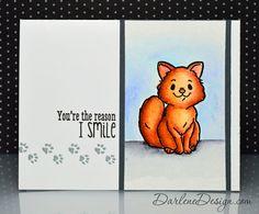 wednesday card, watercolor cat, 20140611peerlesscatjpg 600496