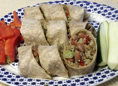 Vegetable Bean Burrito | Recipe Guide | Dr Fuhrman.com