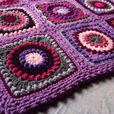 Textured Circles ~ free pattern