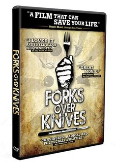 Forks Over Knives - you have to watch it.  Reserve it from the Library!