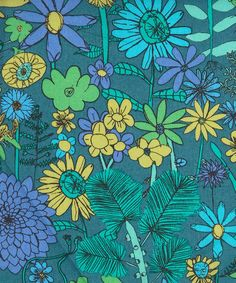 Scilly Flora A Liberty fabric