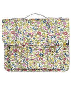 Floral satchel