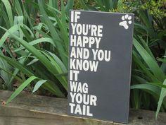 dog sign, shabby chic,