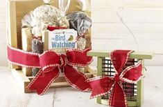 DIY Gift Basket Ideas. Great for birthdays, Christmas, Mother's Day, Father's Day or any special occasion.  birdsandblooms.com