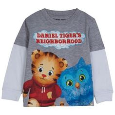 Daniel Tiger's Neighborhood Mock-Layer Tee - Toddler-available at Kohls!  only  4T online :(