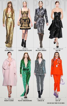 Fall 2012 trends from #NYFW