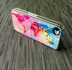 Another Colorful World Case for iPhone 4 or 4s