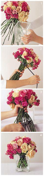 Flower arrangements! diy floral design, diy floral centerpieces, diy centerpiec, floral centerpieces diy, wedding flowers, diy flowers arrangements, flower ideas, floral designs, diy rose centerpiece