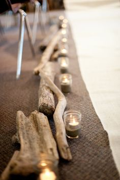 Beachy & Rustic Aisle Decor.