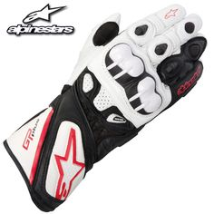 #Alpinestars GP Plus #Gloves 2012 #White #Black #Red #motorcycle #gear