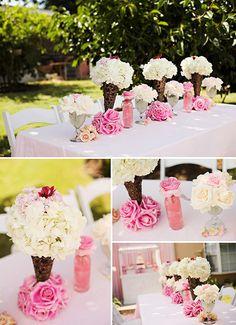 Pink Ice Cream Party ONTOBABY.COM