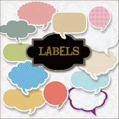 idea, printable labels, friend scrap, freebi label, digit label