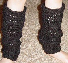 Basic Leg Warmers- 12 inch, toddler/child (pattern courtesy OhioCrochetLady)