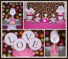 Love Birds Valentines Table