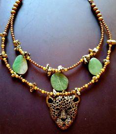 Tiger necklace!