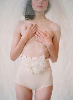 Soft and light bridal belt
