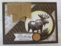 Walk in the WIld Masculine Birthday Card by amyk3868 - Cards and Paper Crafts at Splitcoaststampers