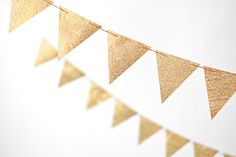 Gold 10 ft Glitter Banner from @Minted