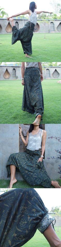 Beautiful, handmade harem pants
