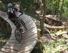 Copper Harbor bike trails in Michigan's UP
