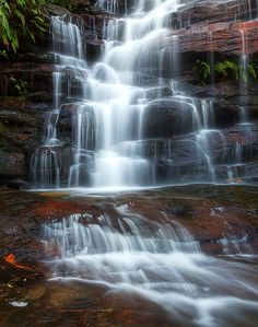 ✮ The top falls at Somersby, Somersby Falls - Gosford, Australia