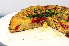 potato, artichoke, eggs, and more.  Tortilla thingy