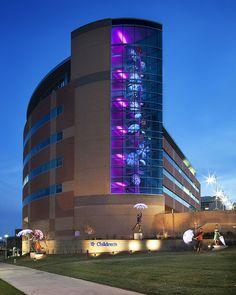 Specialty pediatric center at Children's Hospital & Medical Center in Omaha, Neb.