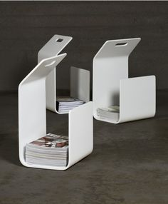 Cool storage for magazines