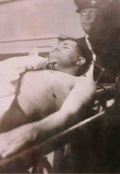 """Today is the 79th anniversary of the shoot-out death of Charles Arthur 'Pretty Boy' Floyd, the career bank robber who just three months earlier had been designated """"Public Enemy No. 1″ by J. Edgar Hoover."""
