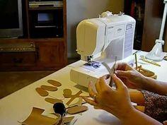 How to Make Doll Shoes - V Sandals Pt. 3