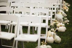 White Pumpkin Wedding