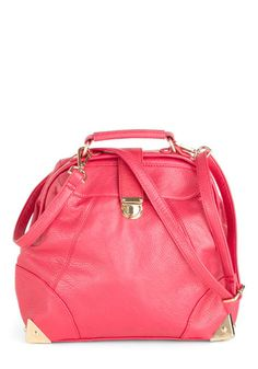 get reese witherspoon's look for only $140 at www.samanthachic.com fashion, style, modcloth, em bag, pink, handbag purs, flamingos, bags, retro vintage
