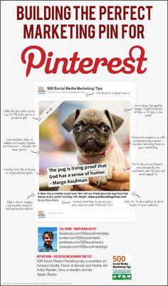 Creating Perfect #Marketing Pins For #Pinterest / #Infographic  #socialmedia - by Bootcamp Media ( #Pinterest #Marketing #SocialMedia #Infographic )