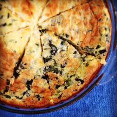 Crustless Quiche with Greek Yogurt | Hellobee