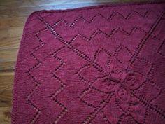 free pattern, baby patterns, bloom flower, blanket free, baby blankets, explod flower, babi blanket, knit pattern, flower babi
