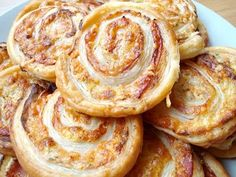 Puff Pastry Snails .. Yum!!