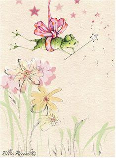 artists, artist elli, frog illustr, frog fairi, artsi frog