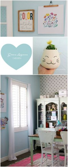 Craft Room Refresh.