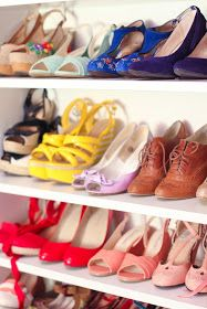 Finding Femme: How I organise my huge shoe collection #organization #heels #shoecloset #storage