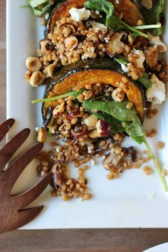 Wheat Berry Salad on Pinterest