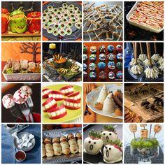 Halloween creative foods