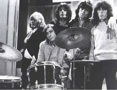Brian, Charlie, Mick, Keith et Bill.