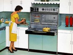 This looks like the stove on Bewitched!
