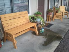 Simple, Strong, Comfortable Sitting Benches | Jays Custom Creations