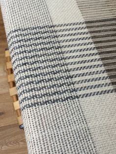 Monochrome Blanket. Very simple 4 shaft patterns, fun to weave: Josephine Andrews awovenfabric@gmail.com shaft pattern
